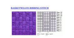 Basketweave Ribbing stitch knitting.pdf