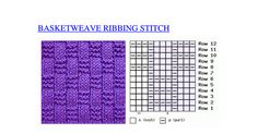 Basketweave Ribbing stitch knitting.pdf