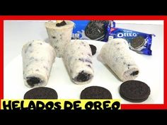Limber Recipe, Oreo Ice Cream, Ice Cream At Home, Gula, Oreo Cookies, Fresh Rolls, Crafts For Kids, Frozen, Food And Drink
