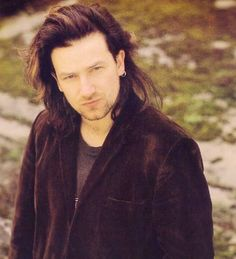 <3  Bono This is the jacket he was wearing the first time I met him. :~)
