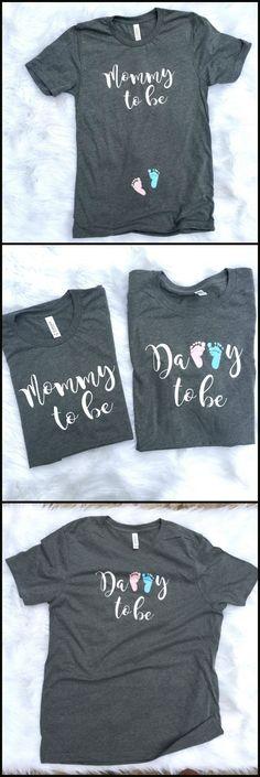 Couples pregnancy Announcement shirts, Preggers Shirt, Couples shirt, Mommy to Be Shirt, Mom to Be, Pregnancy Reveal, New Mom, new dad Shirt #pregnancyannouncementtoparents,