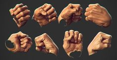 hands fist drawing reference - Google Search