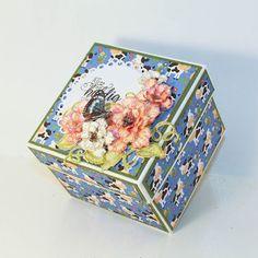 HOBBYKUNST Copic, Decorative Boxes, Instagram, Blog, Home Decor, Kunst, Decoration Home, Room Decor, Blogging