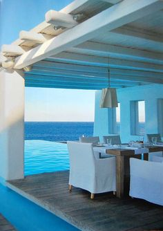 Stunning Beach House Outdoo Dining with amazing views