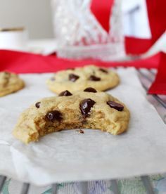 Thick & Chewy Chocolate Chip Cookies   Pass the Cocoa