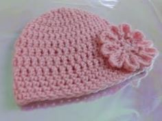 crochet baby hat-free crochet hat patterns by VickieLuvsTheSun