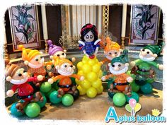Birthday Party - Balloon Decoration - Balloon Items - A Plus Balloon