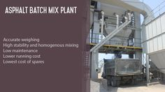 Asphalt mixing plant video.  #AsphaltMixer #AsphaltMixPlant #manufacturer #ConstructionEquipment