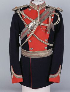 Tunic worn by Major Kenneth O'Brien Harding, 13th Duke of Connaught's Lancers (Watson's Horse), 1915-1921y
