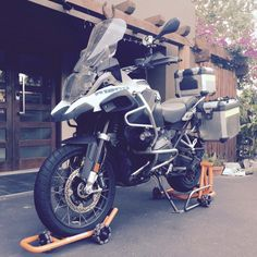 BMW R1200GS Dynamoto Movable Stand