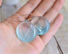 mothers day jewelry Fern earrings  terrarium jewelry fern