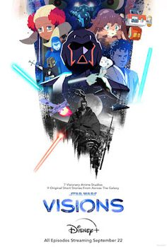 STAR WARS: VISIONS Series Trailer, Featurette, Images and Poster