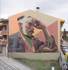 "ARYZ, ""La cultura"" in Cardedeu, Catalunya, Spain,  2017"
