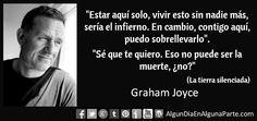 """9 de septiembre 2014 ► #TalDíaComoHoy falleció el novelista británico Graham Joyce, autor de """"La tierra silenciada""""."""