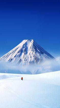 Snow Landscape iPhone 6 wallpaper