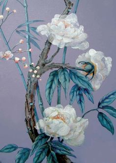 © Jennifer Carrasco Detail of a chinoiserie room I painted for clients