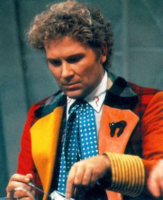 Doctor Who - the Sixth Doctor as played by the great Colin Baker First Doctor, Doctor In, Colin Baker, Broadchurch, Musketeers, Time Lords, David Tennant, Walking By, Dr Who