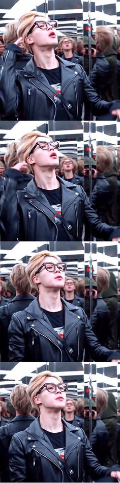 When Park Jimin has more sass than you and could do a better hair flick than you could lmao