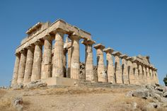 Sicily Selinunte Temple E (Hera) - Ancient Greece - Wikipedia, the free encyclopedia