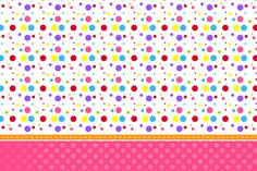 Clown Party, Polka Dot Party, Lalaloopsy, Candy Party, Paper Beads, Candyland, Paper Background, Box Design, Cartoon Drawings