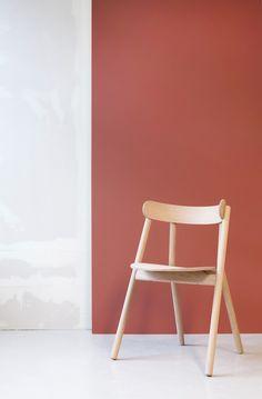 The OKI chair by Norwegian designer Stine Aas.