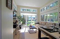 Bright Living Room - Salish by West Coast Homes