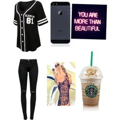 ☺️? by jordya2002 on Polyvore featuring polyvore, fashion, style, J Brand and GALA