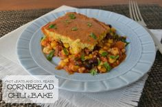 Hot Eats and Cool Reads: Cornbread Chili Bake Recipe