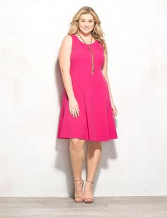 Shop plus size dresses for a great fit at DRESSBAR. Find the latest in fit    flare 23b000975