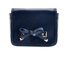 Sac à rabat bleu nuit, Claudie Pierlot, 112,50 €
