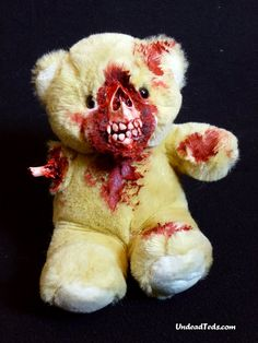 creepy teddy bear art - Google Search