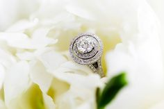 #EngagementRing - On SMP http://www.stylemepretty.com/australia-weddings/queensland-au/noosa-heads/2013/12/04/noosa-wedding-from-calli-b-photography-2   Calli B Photography   OK - We need help on the 'style'. Double halo?