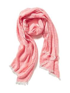 Neon Jacquard Scarf | Old Navy