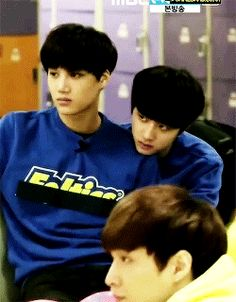kaisoo<< they both look ready to muder the person in front of them