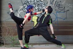 peOPLE ARE COSPLAYING THE BREAK DANCE AU! (Miraculous LadyBug)