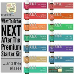 www.yl4life.org/grannywentgreen  What are some of the best oils to get after you get your Young Living Premium Starter Kit YL #1717033
