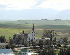 beautiful church in Riebeek Kasteel Beautiful Places In The World, Wonderful Places, Lost City, Cape Town, Time Travel, South Africa, Paris Skyline, Road Trip, African