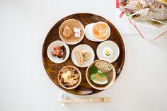 京都・錦市場で準備したお食い初めです。