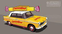 Les illustrations de christophe: Carambar, ça rigole plus ! Peugeot 404