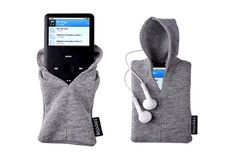 #music #mp3 #hoodie I soo want to have this one!!! I guess I could make it myself, but who wants to risk not having it *this* cool? :)