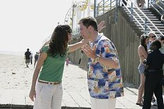 "NCIS Season 5 Episode 18 - ""Judgment Day (Part I)"" ~ Tony and Ziva arguing in LA. ❤"