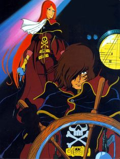 Captain Harlock & Queen Emeraldas