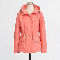 J.Crew+Factory+-+Factory+hooded+nylon+jacket
