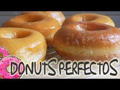 Donuts Glaseados Caseros - receta fácil y paso a paso - YouTube