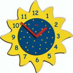 Reloj con material reciclado relojes pinterest - Manualidades relojes infantiles ...