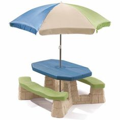 Step2 Naturally Playful Picnic Table with Removable Umbrella * Click on the image for additional details.
