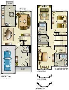 The Kensington Townhome | Edgewood Properties