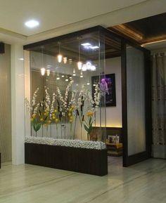Glass Partition Designs, Living Room Partition Design, Pooja Room Door Design, Room Design Bedroom, Bedroom Furniture Design, Home Room Design, Room Partition Wall, Wood Partition, Partition Ideas