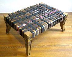 Что сделать из старых ремней: плетеная мебель  https://www.facebook.com/FAQinDecor/posts/391999540988221 #FAQinDecor #design #decor #interior #art #дизайн #декор #интерьер