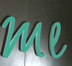 NEU ★  EMERALD GRÜN ★ Buchstaben von PAULSBECK Buchstaben, Dekoration & Geschenke auf DaWanda.com